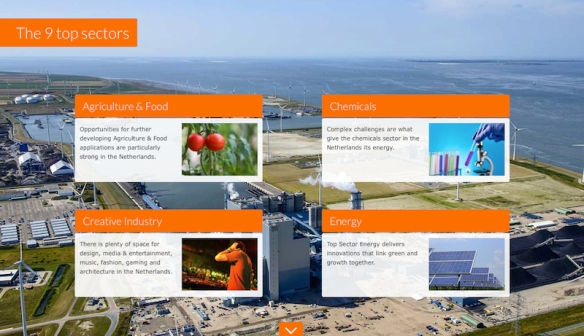conventions.Holland - 9 sectors