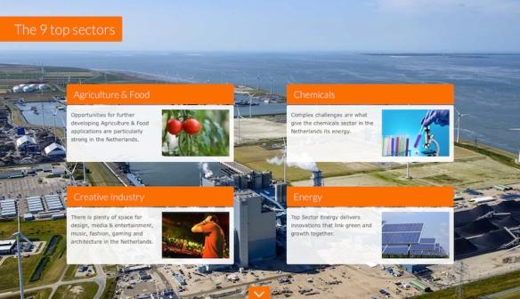 conventions.Holland - 9 sectors