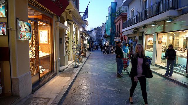 Plaka, Ateny