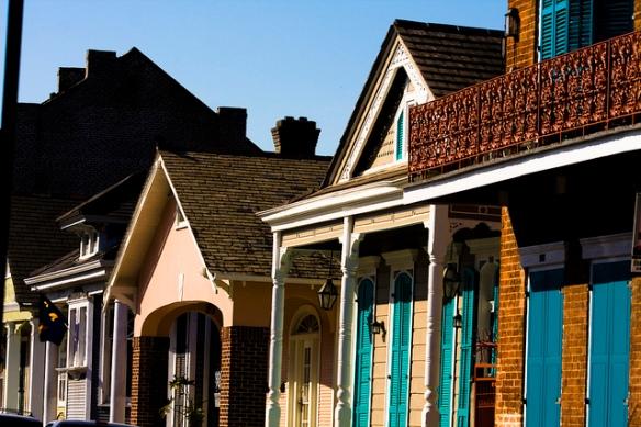Vieux Carré, Nowy Orlean by Bridget Coila