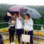 Selfie parasolowe   Pieskowa Skała