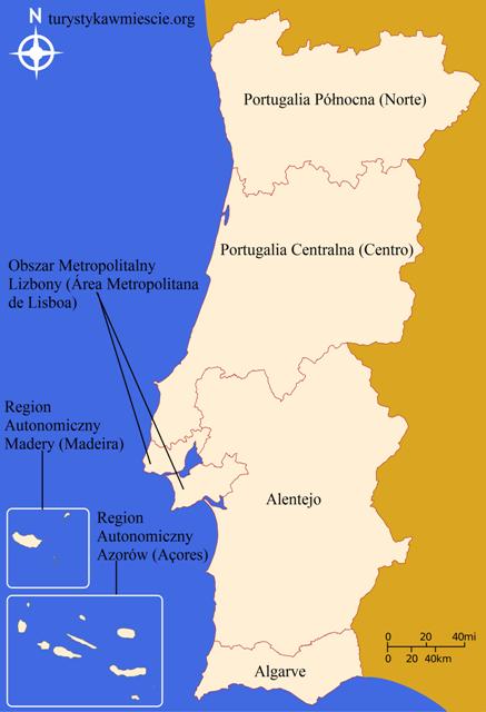 Podział administracyjny Portugalii