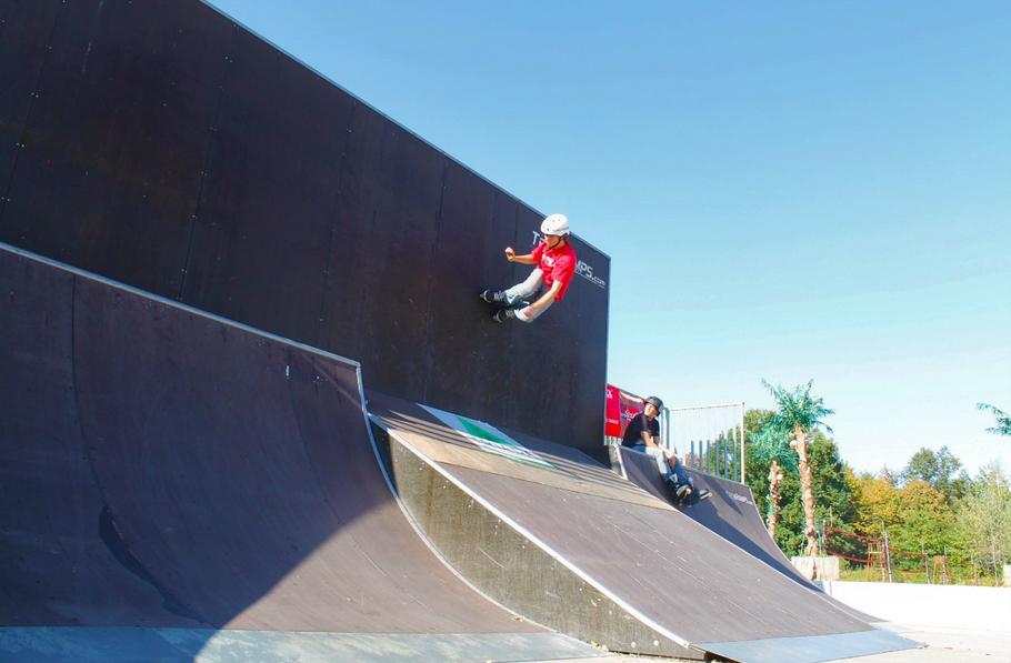 Skatepark Wyspa w 2011 roku fot Mateusz Koszarek