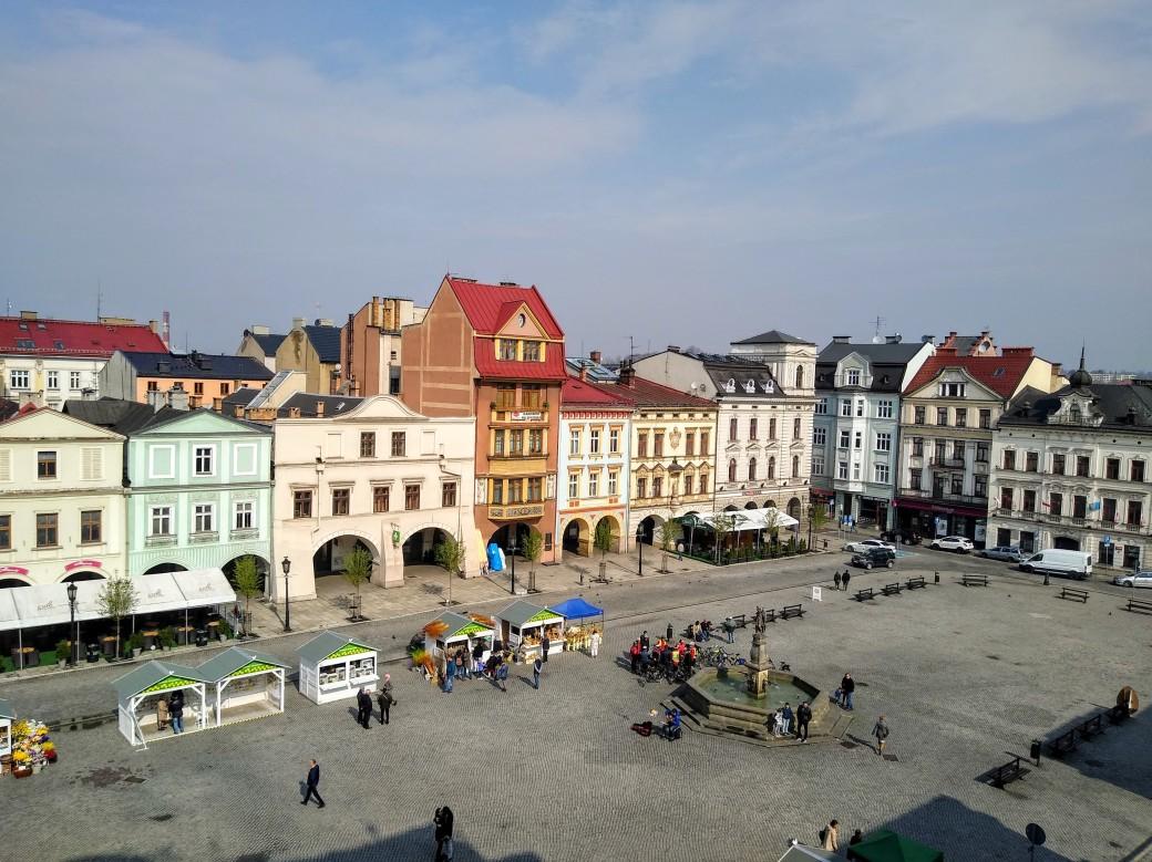 Rynek w Cieszynie, Cieszyn Blogtravel Meetup 12-14.04.2019